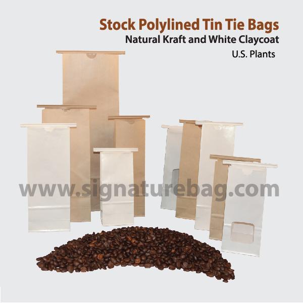 Paper Bags Tin-tie bags